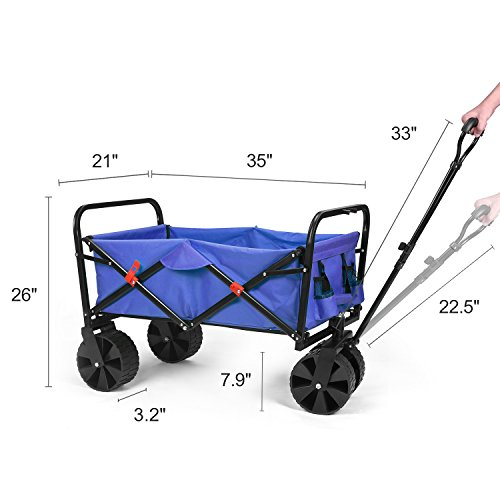 HOUSE-DAY-Outdoor-Garden-Utility-Wagon-Cart-0-1