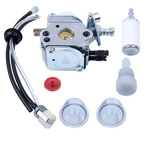 Haishine-Carburetor-Fuel-Filter-Line-Vent-Primer-Bulb-Kit-for-Echo-SRM2100-GT2000-GT2100-PAS2000-Trimmer-Zama-C1U-K29-C1U-K47-C1U-K52-0-1
