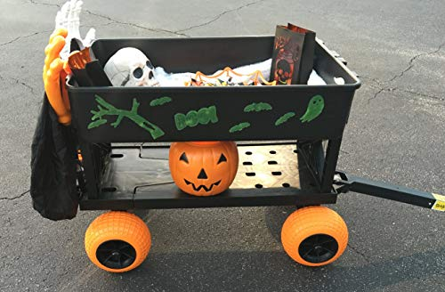 Halloween-Cart-Pumpkin-Patch-Wagon-Haul-Trick-or-Treat-Bags-Candy-Costumes-Decorations-0-2