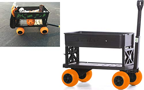 Halloween-Cart-Pumpkin-Patch-Wagon-Haul-Trick-or-Treat-Bags-Candy-Costumes-Decorations-0