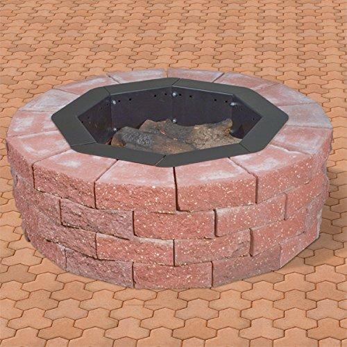 Heavy-Duty-Bolt-Together-Campfire-Ring-or-Fire-Pit-Insert-Model-IO-308-Park-Grill-Made-in-the-USA-0-0