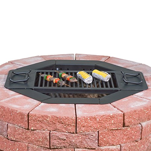 Heavy-Duty-Bolt-Together-Campfire-Ring-or-Fire-Pit-Insert-Model-IO-308-Park-Grill-Made-in-the-USA-0-1