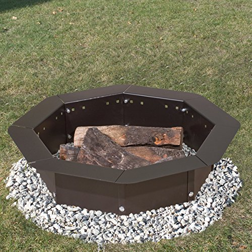Heavy-Duty-Bolt-Together-Campfire-Ring-or-Fire-Pit-Insert-Model-IO-308-Park-Grill-Made-in-the-USA-0