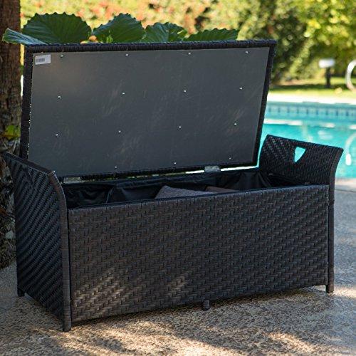 Home-Improvements-Dark-Brown-Resin-Wicker-Deck-Storage-Box-Patio-Storage-Bench-Seating-Pool-Storage-0-0