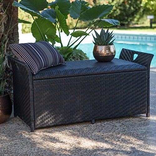 Home-Improvements-Dark-Brown-Resin-Wicker-Deck-Storage-Box-Patio-Storage-Bench-Seating-Pool-Storage-0