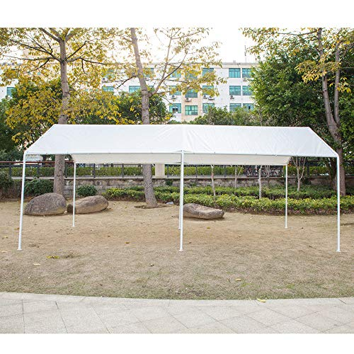 Honesty-Carport-Canopy-Tent-Frame-Shelter-Car-Boat-Truck-Garage-Storage-Shade-Metal-Big-0-1