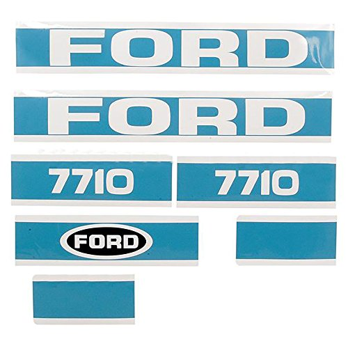 Hood Decal Set Made To Fit Ford New Holland 7710 Tractor Green Lawn Amp Garden Store