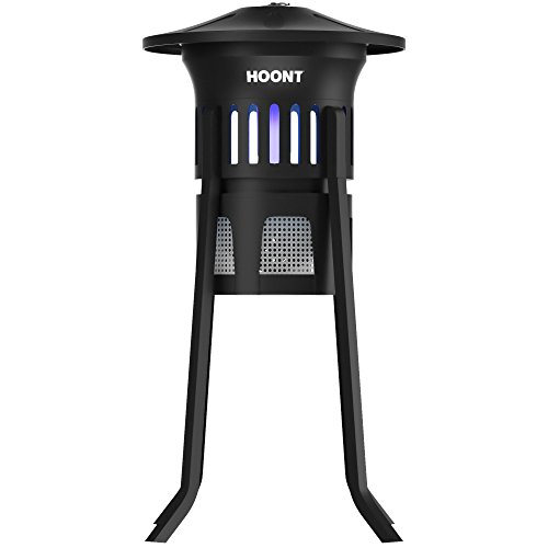 Hoont-Mosquito-Killer-and-Gnat-Fly-Trap-Killer-Indoor-Outdoor-Mosquito-Trap-Control-with-Stand-Bright-UV-Light-and-FanExterminate-Mosquitoes-Wasps-Etc–Perfect-for-Patio-Gardens-etc-0