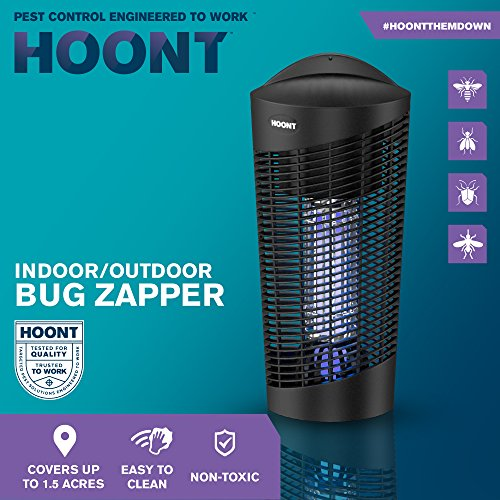 Hoont-Robust-Electric-Indoor-Outdoor-Fly-Zapper-and-Bug-Zapper-Trap-Catcher-Killer–Protects-Up-to-15-Acre-Bug-and-Fly-Killer-Insect-Killer-Mosquito-Killer–For-Residential-and-Commercial-Use-0-0