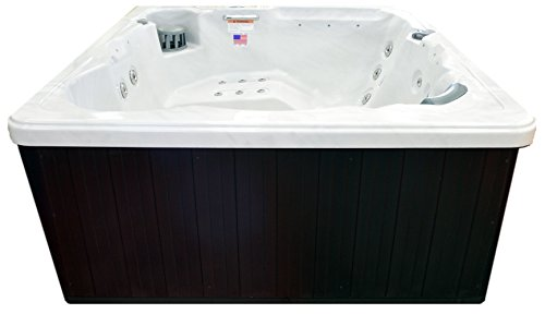 Hudson-Bay-Spa-XP34-6-Person-34-Outdoor-Spa-with-Stainless-Jets-110V-Cord-80-x-80-x-34-Sterling-White-0-1