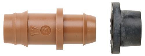 Hydro-FlowNetafim-17-mm-Insert-Adapter-wGrommet-for-15-in-or-Larger-PVC-50Bag-0