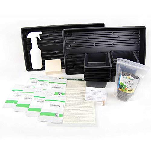 Hydroponic-Microgreens-Growing-Kit-Grow-Micro-Greens-Baby-Salad-Indoor-Garden-All-Supplies-Seeds-Trays-Etc-0