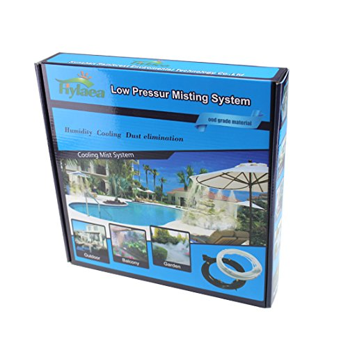 Hylaea-12M40feet-Portable-14-Outdoor-Mist-Cooling-System-Outdoor-Misting-System-Outdoor-Misting-Kit-for-Patio-Lawn-Garden-0