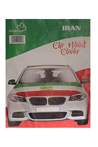 IRAN-Country-Flag-With-LION-CAR-HOOD-COVER-New-0