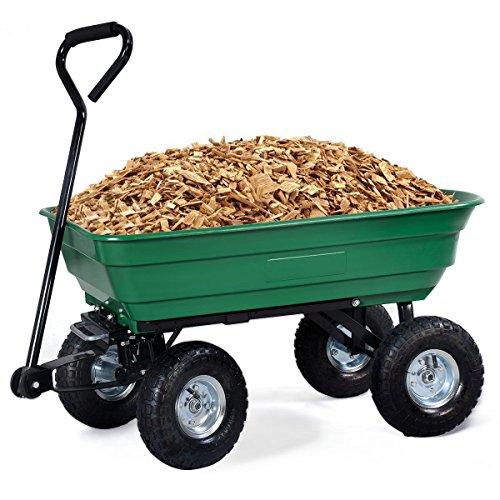 Imtinanz-Modern-Garden-Dump-Cart-Dumper-Wagon-Carrier-0