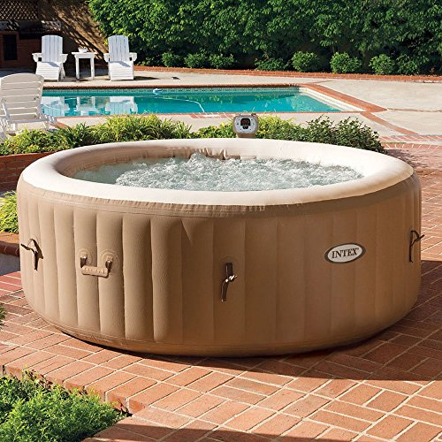 Intex-PureSpa-4-Person-Inflatable-Hot-Tub-with-Drink-Tray-Headrest-0-0