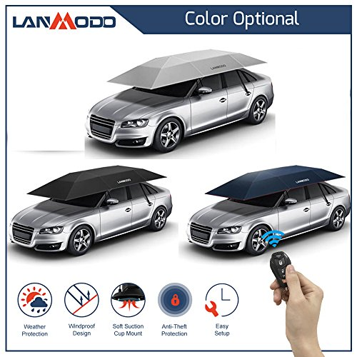 Ioffersuper 1 Pcs Waterproof Lanmodo Fully Automatic Car Umbrella