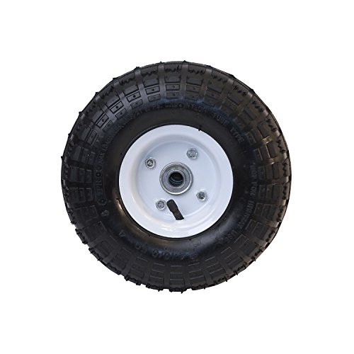 Ireko-WBNF16-Anti-Flat-Ribbed-Replacement-Wheel-for-Wheelbarrow-16-Inches-No-Flat-Tire-Black-0-0