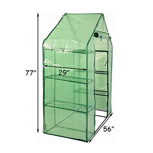Item-Ways-Portable-Mini-8-Shelves-Walk-in-Greenhouse-Outdoor-4-Tier-Green-House-New-0-0