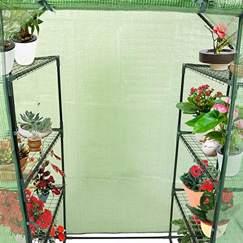 Item-Ways-Portable-Mini-8-Shelves-Walk-in-Greenhouse-Outdoor-4-Tier-Green-House-New-0