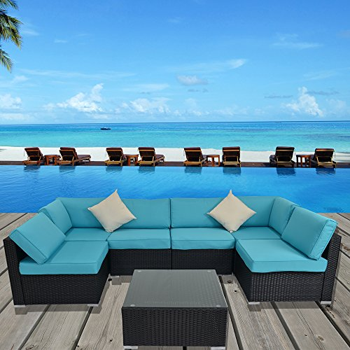 JETIME-Outdoor-Rattan-Couch-Wicker-7PCS-Sectional-Conversation-Sofa-Set-Lawn-Garden-Patio-Furniture-Set-0-0