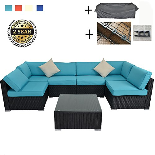 JETIME-Outdoor-Rattan-Couch-Wicker-7PCS-Sectional-Conversation-Sofa-Set-Lawn-Garden-Patio-Furniture-Set-0