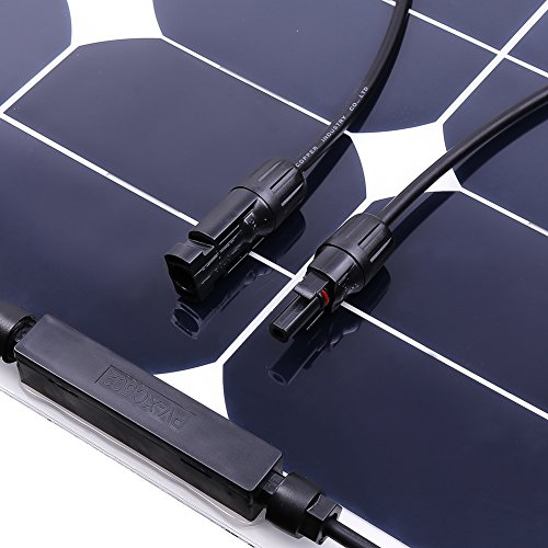 Jannyshop-18V-50W-Flexible-Solar-Panel-Solar-Charger-with-Cable-for-12V-Battery-Caravan-Boat-Shed-Car-Motorhome-Camping-Monocrystalline-0-1