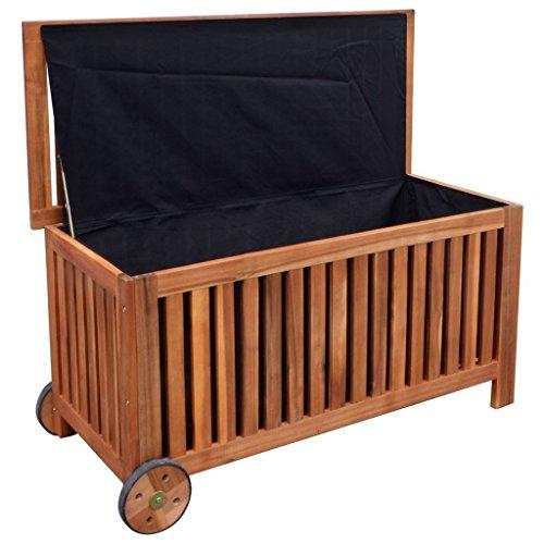 K-Top-Deal-Outdoor-Garden-Wooden-Storage-Bench-Patio-Porch-Cushion-Pillow-Storage-0-0