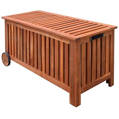 K-Top-Deal-Outdoor-Garden-Wooden-Storage-Bench-Patio-Porch-Cushion-Pillow-Storage-0