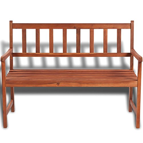K-Top-Deal-Outdoor-Patio-Wooden-Bench-Acacia-Wood-with-Light-Oil-Finish-Patio-Furniture-0-0