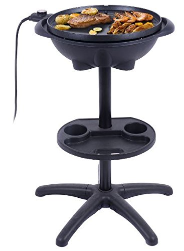 KA-Company-Grill-Electric-Outdoor-Bbq-Indoor-Barbecue-Non-Stick-Portable-Cooking-Nonstick-Smokeless-Removable-Stand-0-2