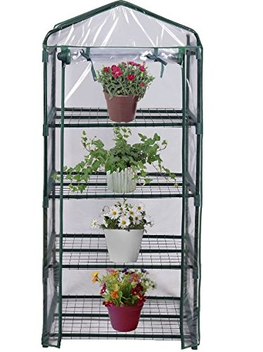 KA-Company-Grow-Greenhouse-Tent-High-Strength-Portable-4-Shelves-Outdoor-Mini-0-0