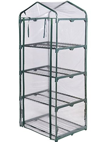 KA-Company-Grow-Greenhouse-Tent-High-Strength-Portable-4-Shelves-Outdoor-Mini-0-1