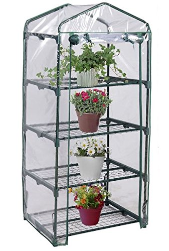 KA-Company-Grow-Greenhouse-Tent-High-Strength-Portable-4-Shelves-Outdoor-Mini-0