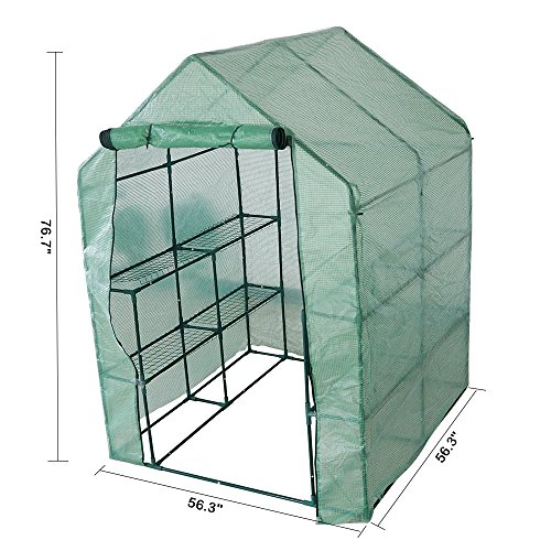 KARMAS-PRODUCT-Walk-in-Mini-Outdoor-Greenhouse-2-Tier-8-Shelf-Portable-Garden-Backyard-Patio-Plants-Tent-563L-x-563W-x-767H-0-1
