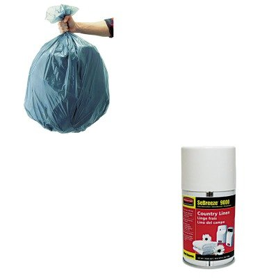 KITRCP501188GRARCP5159-Value-Kit-Rubbermaid-Sebreeze-9000-Can-Country-RCP5159-and-Rubbermaid-5011-88-Tuffmade-Polyliner-Low-Density-Can-Liners-55-Gallons-RCP501188GRA-0
