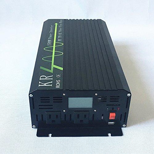 KRXNY-Car-Power-Inverter-Full-Power-1500W-Peak-3000W-12V-DC-to-110V-120V-AC-60HZ-Off-Grid-Pure-Sine-Wave-Converter-with-USB-Port-LCD-Display-0-0