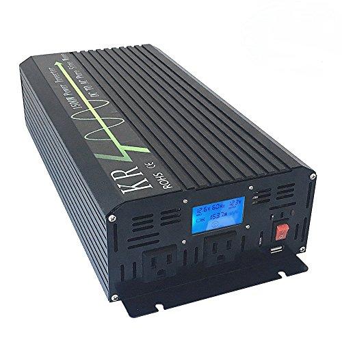KRXNY-Car-Power-Inverter-Full-Power-1500W-Peak-3000W-12V-DC-to-110V-120V-AC-60HZ-Off-Grid-Pure-Sine-Wave-Converter-with-USB-Port-LCD-Display-0