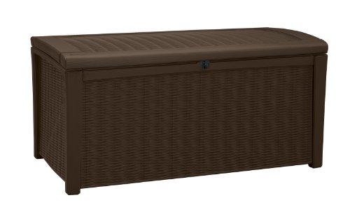 Keter-Borneo-110-Gal-Plastic-Outdoor-Patio-Storage-Container-Deck-Box-Garden-Bench-Brown-0