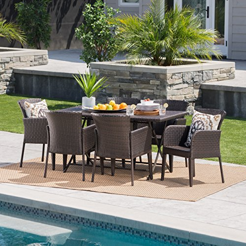 Killion-Outdoor-7-Piece-Multi-Brown-Wicker-Dining-Set-with-Foldable-Table-0