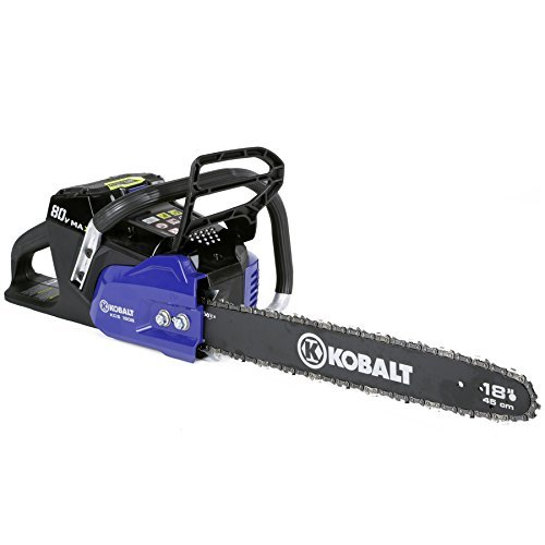Kobalt-80-volt-Max-volt-Lithium-Ion-Li-ion-18-in-Cordless-Electric-Chainsaw-0-0