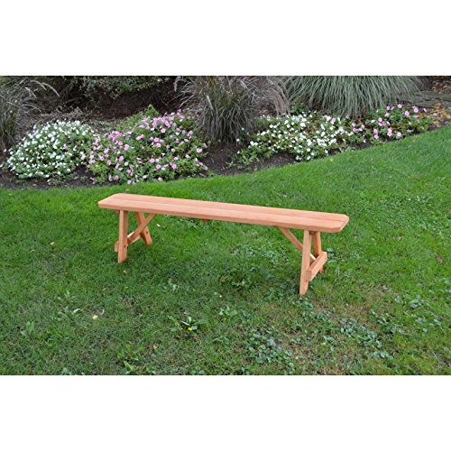 Kunkle-Holdings-LLC-Pressure-Treated-Pine-Traditional-Bench-Cedar-Stain-2-3-4-5-6-8-Foot-0-1
