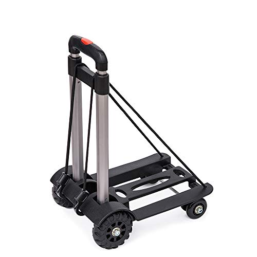 LF-Folding-Compact-Lightweight-Durable-Luggage-Cart-Travel-Trolley-Quiet-Wheeling-Sports-Medical-Equipment-Carrier-0-0