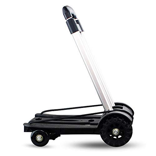 LF-Folding-Compact-Lightweight-Durable-Luggage-Cart-Travel-Trolley-Quiet-Wheeling-Sports-Medical-Equipment-Carrier-0-1