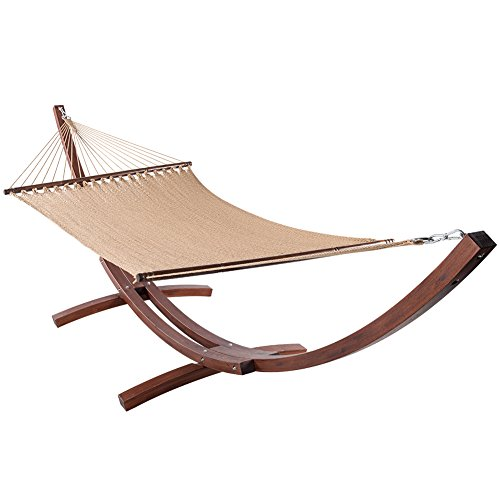 Lazy-Daze-Hammocks-55-Inch-Double-Caribbean-Hammock-Hand-Woven-Polyester-Rope-Outdoor-Patio-Swing-Bed-0-0