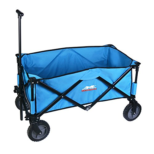 Leopard-Outdoor-Sports-Collapsible-Utility-Wagon-0-0