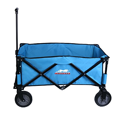 Leopard-Outdoor-Sports-Collapsible-Utility-Wagon-0-2