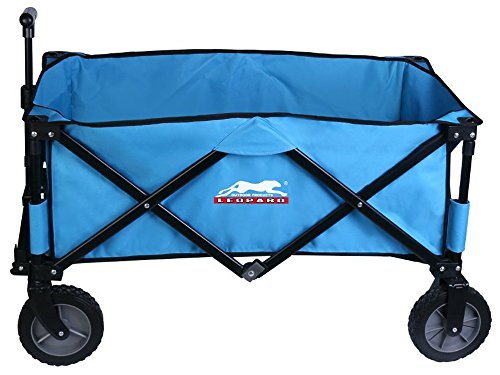 Leopard-Outdoor-Sports-Collapsible-Utility-Wagon-0