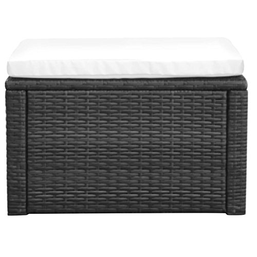 LicongUS-Footstool-Ottoman-Poly-Rattan-21x21x118-Black-Footstool-Outdoor-Footstool-Material-Metal-frame-PE-rattan-0-0