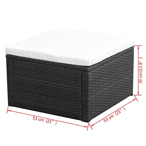 LicongUS-Footstool-Ottoman-Poly-Rattan-21x21x118-Black-Footstool-Outdoor-Footstool-Material-Metal-frame-PE-rattan-0-2